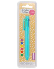 Teens' NPW six colour scented gel pen