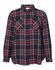 Junarose Plus Check Shirt