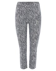 TIGI cropped pull on trousers