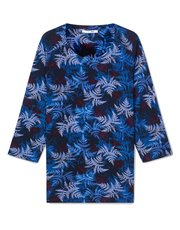 Dash spaced floral top