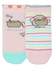 Pusheen unicorn socks two pack