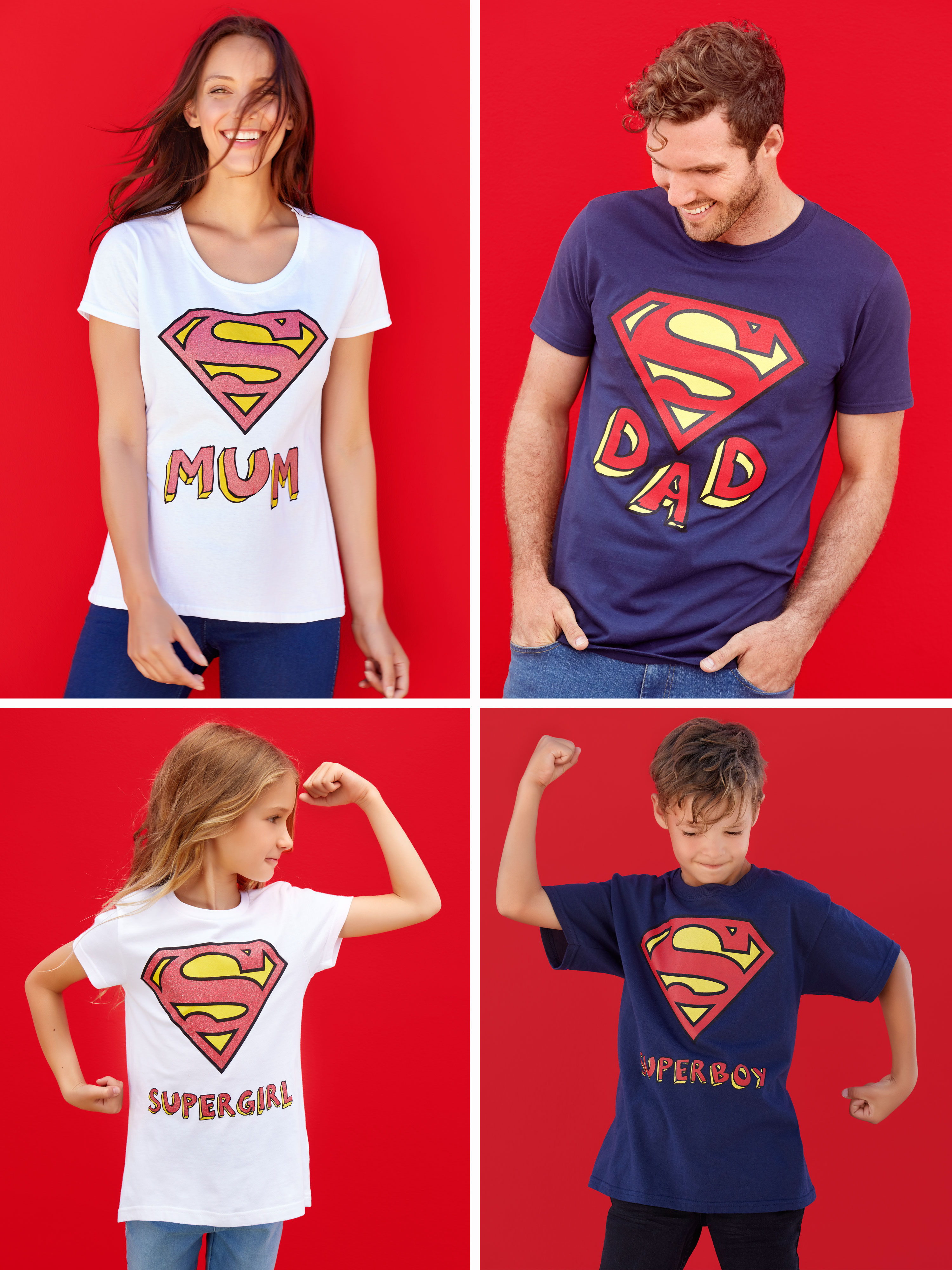 Super family mini me t-shirts