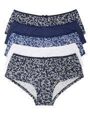 Floral butterfly print boxer briefs multipack