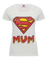 Supermum print t-shirt