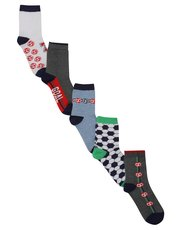 Football socks five pack