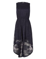Izabel lace asymmetric dress