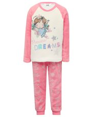 Fairy fleece pyjamas