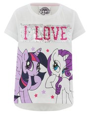 My Little Pony two way sequin print t-shirt