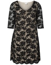 Junarose floral lace dress