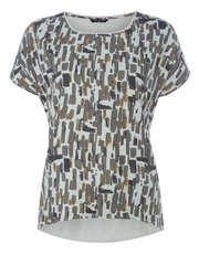 VIZ-A-VIZ seasonal printed top