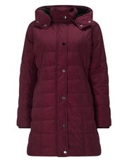 Precis Petite quilted hooded coat