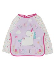 Unicorn coverall bib