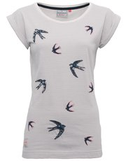 Brakeburn stripe swallow t-shirt