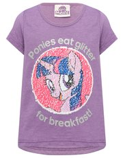 My Little Pony sequin t-shirt
