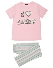 Teens' I love sleep pyjama set