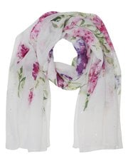 Military Wives Choirs floral print scarf