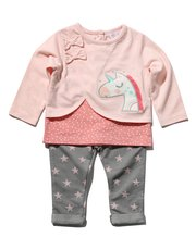 Unicorn top and jeggings set
