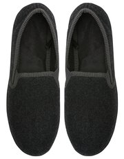 Textured closed back slipper