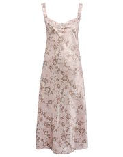 Floral longline chemise nightdress