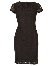 Izabel v-neck lace dress