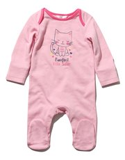 Little Sister slogan sleepsuit