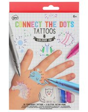 NPW connect the dots temporary tattoos