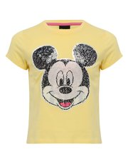 Mickey Mouse two way sequin t-shirt