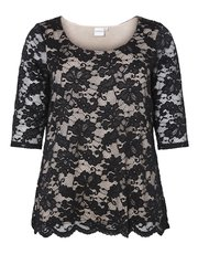 Junarose plus lace top