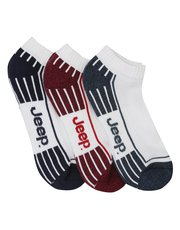 Jeep trainer socks three pack