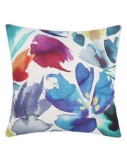 Abstract floral cushion