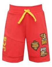 JCB quilted badge shorts
