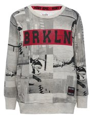 Brooklyn skate print sweater