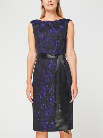 Jacques Vert Bianca jacquard dress