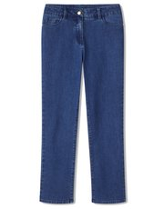 Dash mid wash lincoln short length jeans