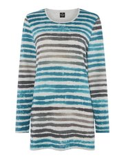 TIGI painted stripe top