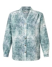Eastex mineral texture print blouse