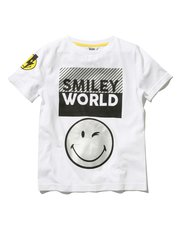 Smiley World metallic t-shirt