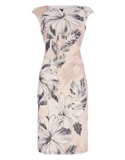 Roman Originals floral printed lace dress