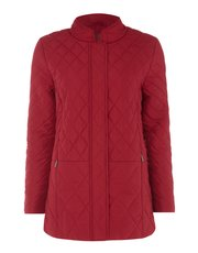 TIGI diamond quilted coat