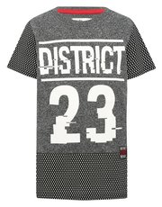 District number print t-shirt