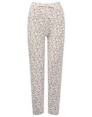 Star print pyjama trousers