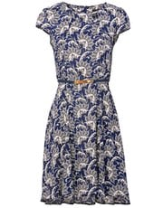 Izabel damask tea dress