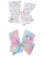 JoJo Siwa unicorn bows two pack