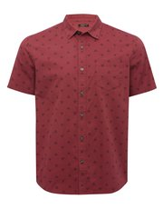 Sail print short sleeve shirt