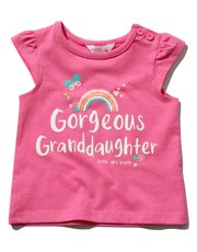 Granddaughter slogan t-shirt