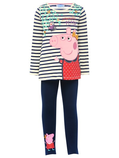 Peppa Pig long sleeve top and legging set