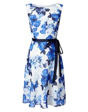 Jacques Vert petite burnout floral dress