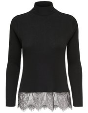 JDY lace trim jumper