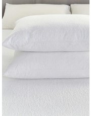 Julian Charles waterproof pillow protector pair