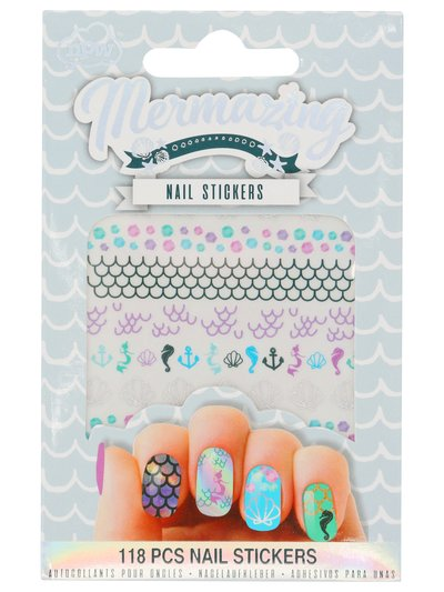 Teens' NPW mermaid nail stickers